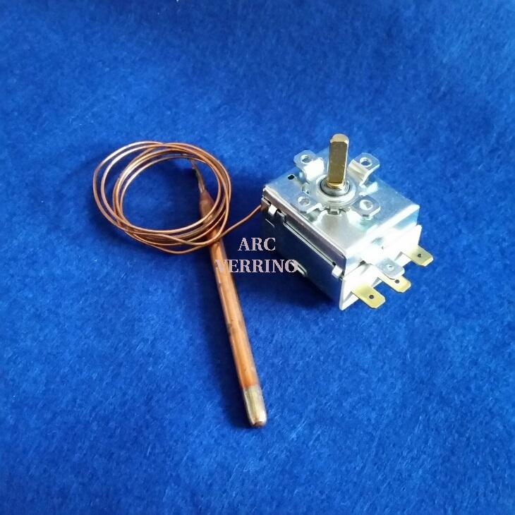 TERMOSTATO DI REGOLAZIONE IMIT mod.TR2 a bulbo capillare da 2mt - taratura 0-90°C