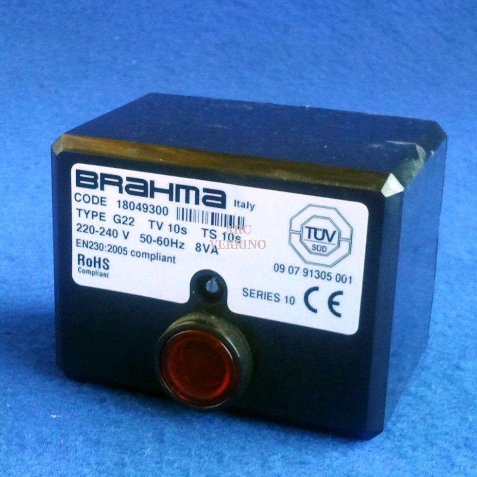 APP.RA BRAHMA G22 Serie 10  Ts=10s  Tv=10s