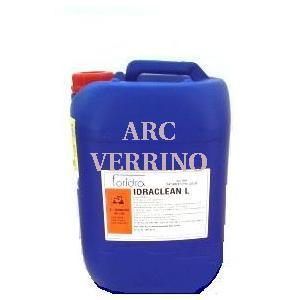 LIQUIDO ACIDO FORIDRA IDRACLEAN L 10Kg. I.LT10 per pulizia imp.acqua sanitaria + azione AntiLegion