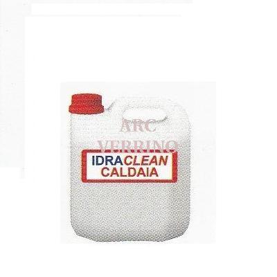 LIQUIDO DISINCR.non corrosivo FORIDRA IDRACLEAN CALDAIA- 5Kg. I.CALDT5 per cald.a condensazione
