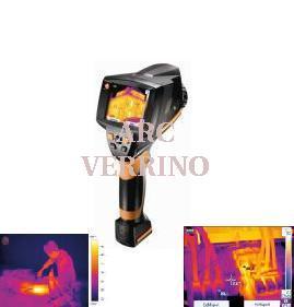 termocamera testo 875 1i kit con valigia scheda sd cavo usb con software e alimentatore. Black Bedroom Furniture Sets. Home Design Ideas