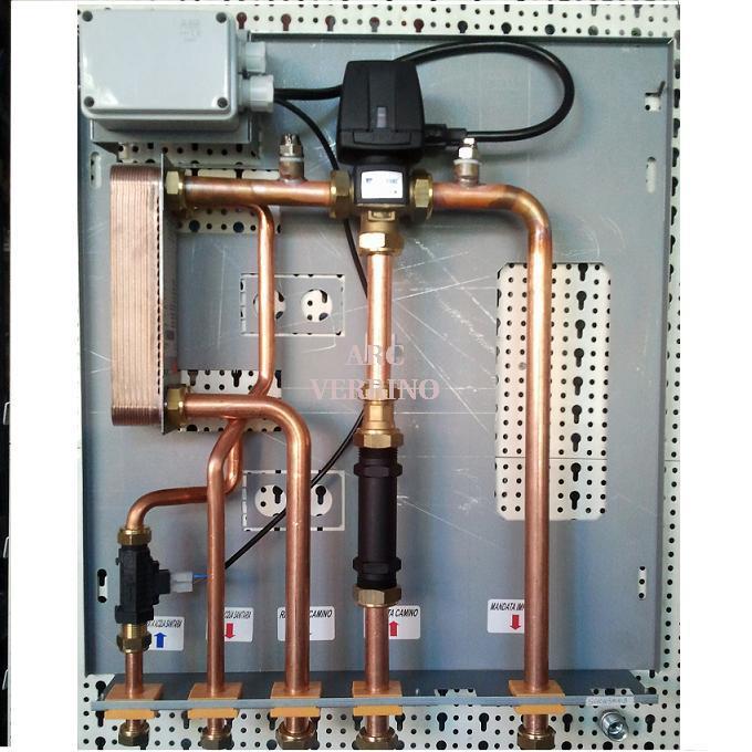 Prodotti arc verrino - Stufe a pellet per termosifoni e acqua calda ...