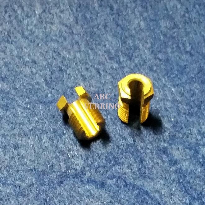 ADATTATORE FRESATO M9x1 per termocoppie  G7032010