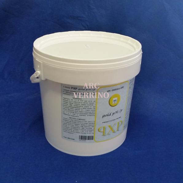 CORRETTORE GRANULARE di pH-  confezione da 8Kg  PXP GOLD PH-/P