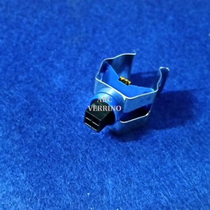 SENSORE NTC doppio BLU con molla diam.18/22mm e connettore 4 poli - 4028.6002.78
