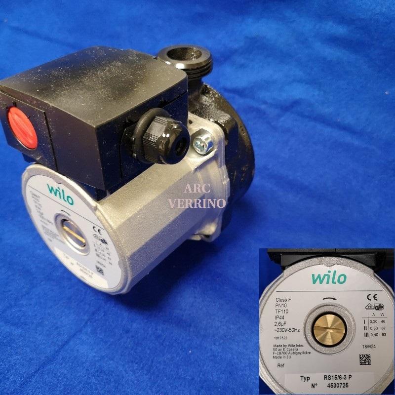 CIRCOLATORE WILO RS15/6-3 P 130mm  - 4530725