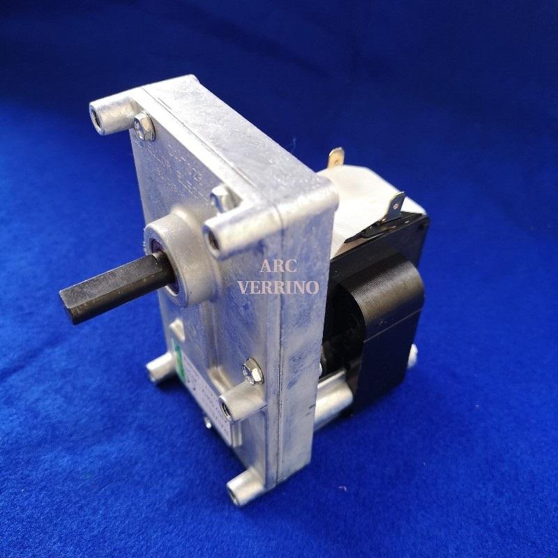 MOTORIDUTTORE MELLOR 230V 1,26 rpm albero diam.9,5mm H=28mm  045-55-001N FB1357