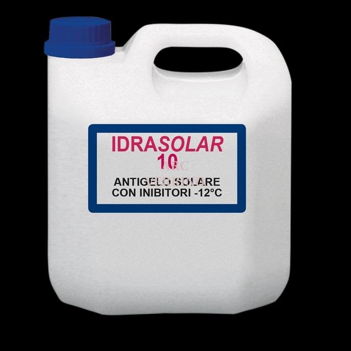 ANTIGELO Atossico Conc.Propil. Premisc.-12C IDRASOLAR 10 impianti solari e sottovuoto 5Kg.I.10T5
