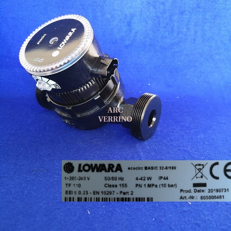 CIRCOLATORE LOWARA ECOCIRC- BASIC 32-6/180 a velocità variabile