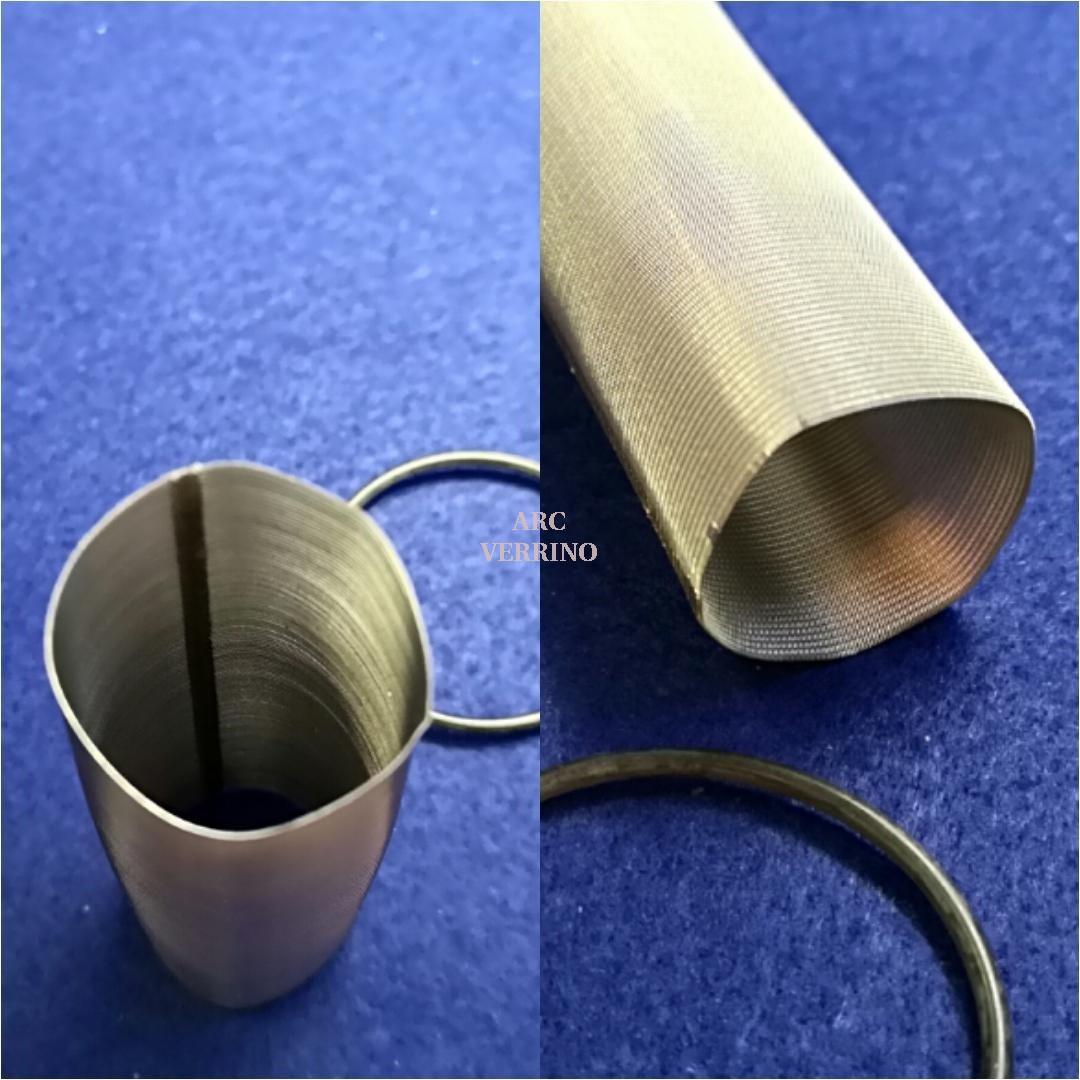 CARTUCCIA FILTRO INOX 100um per Honeywell serie FF06 diametro 1/2