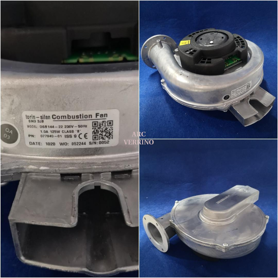 VENTILATORE FUMI DSB144-22 230Vac 50Hz per caldaia Blue 35-40